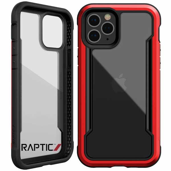 Carcasa Raptic Shield iPhone 12 Mini rojo