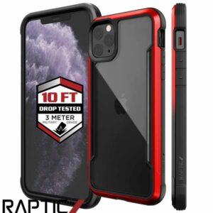 funda iphone raptic shield roja