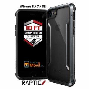Funda antigolpes iPhone 8/7/SE negro