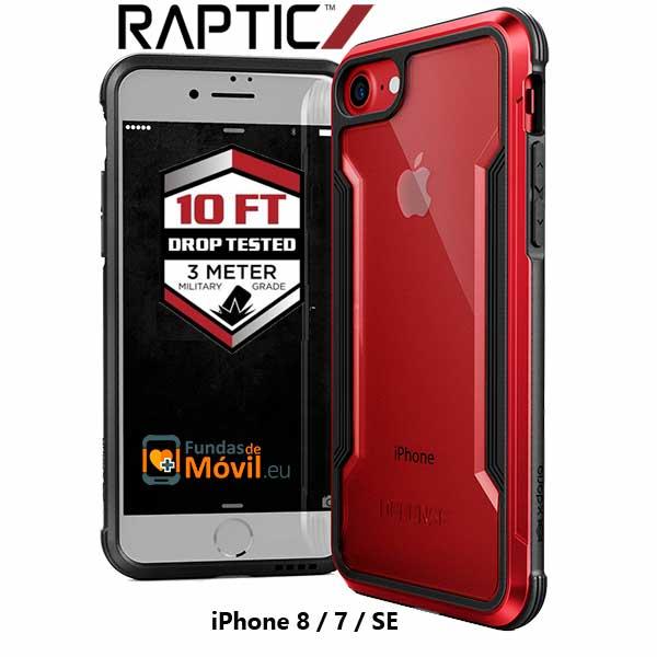 Funda antigolpes iPhone 8/7/SE rojo