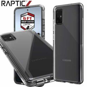 Carcasa Raptic Clear móvil Samsung A51