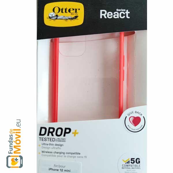 Funda OtterBox React iPhone 12 Mini