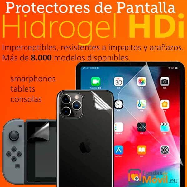 Protectores de pantalla de Hidrogel